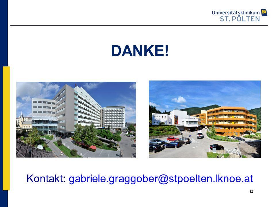 DANKE! Kontakt: gabriele.graggober@stpoelten.lknoe.at 121