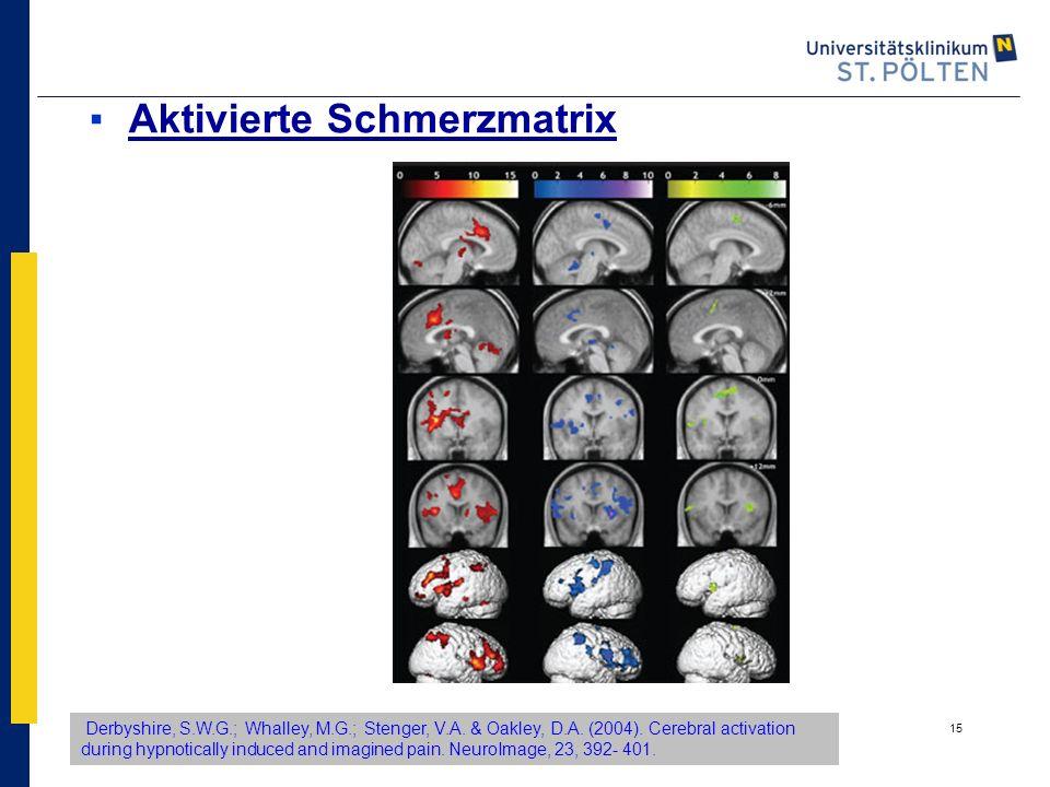 Aktivierte Schmerzmatrix