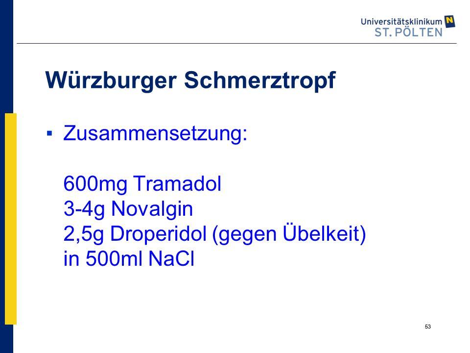 Würzburger Schmerztropf