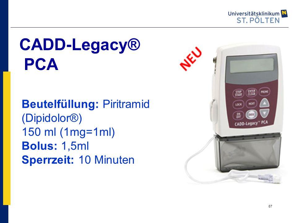 CADD-Legacy® PCA Beutelfüllung: Piritramid (Dipidolor®)