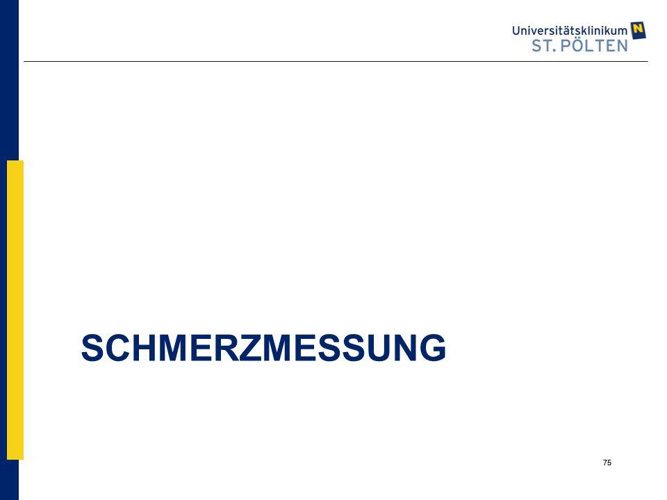 SCHMERZMESSUNG 75