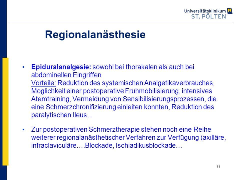 Regionalanästhesie