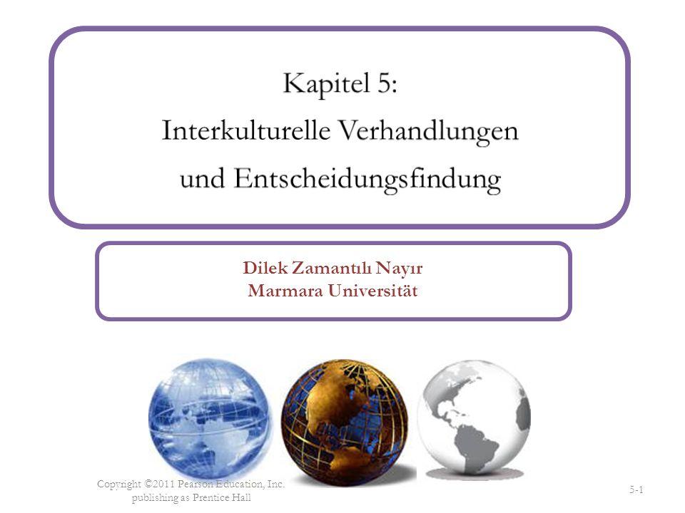 Kapitel 5: Interkulturelle Verhandlungen und Entscheidungsfindung