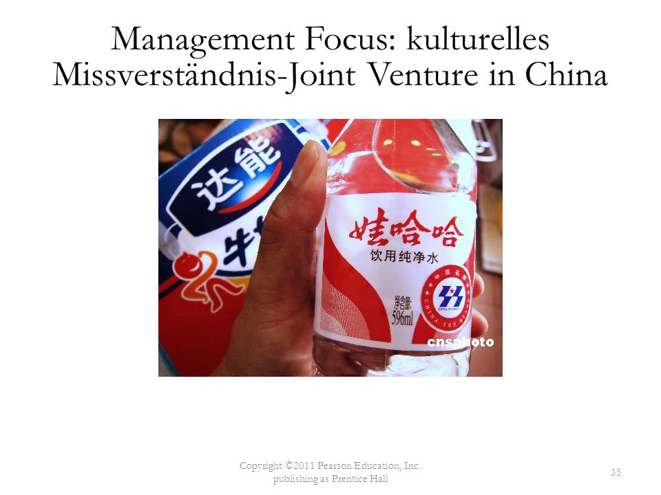 Management Focus: kulturelles Missverständnis-Joint Venture in China