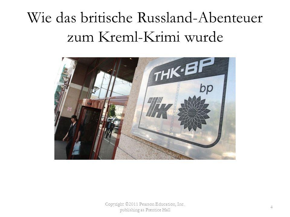 Wie das britische Russland-Abenteuer zum Kreml-Krimi wurde
