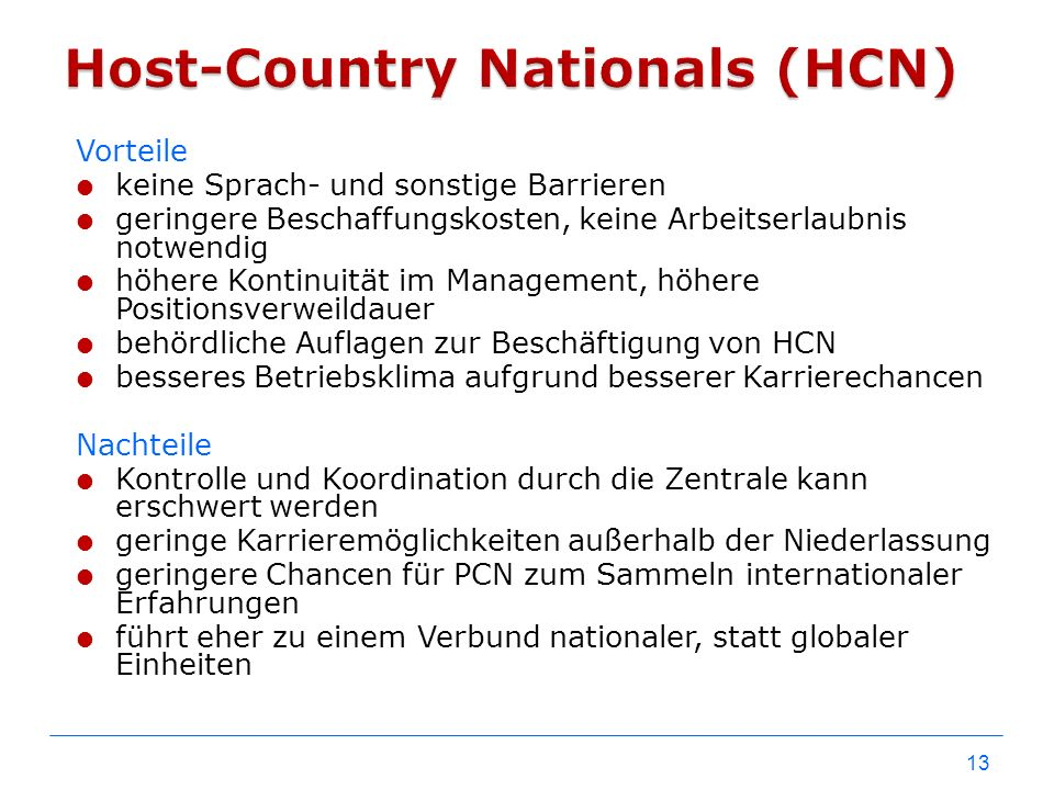 Host-Country Nationals (HCN)