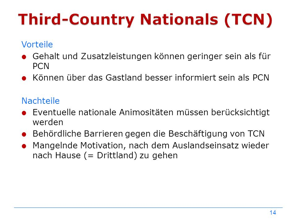 Third-Country Nationals (TCN)