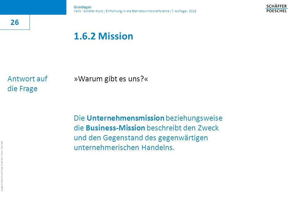 1.6.2 Mission 26 Antwort auf die Frage