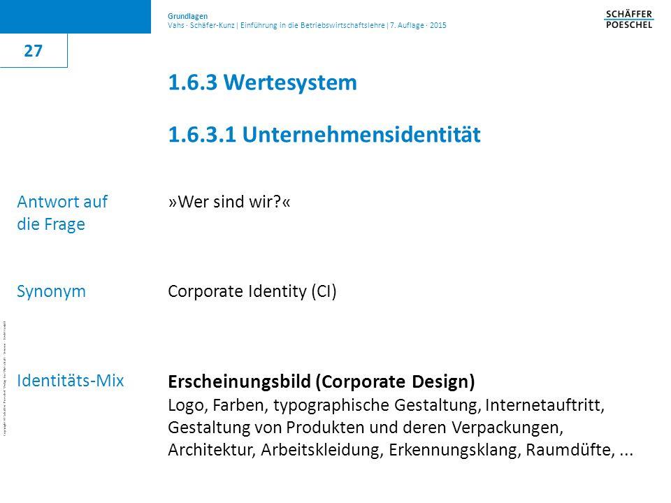 1.6.3.1 Unternehmensidentität