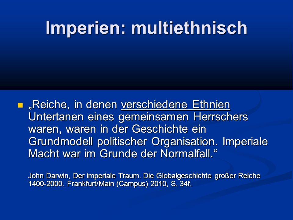 Imperien: multiethnisch
