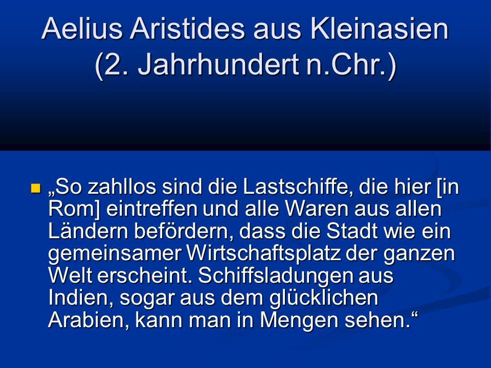 Aelius Aristides aus Kleinasien (2. Jahrhundert n.Chr.)
