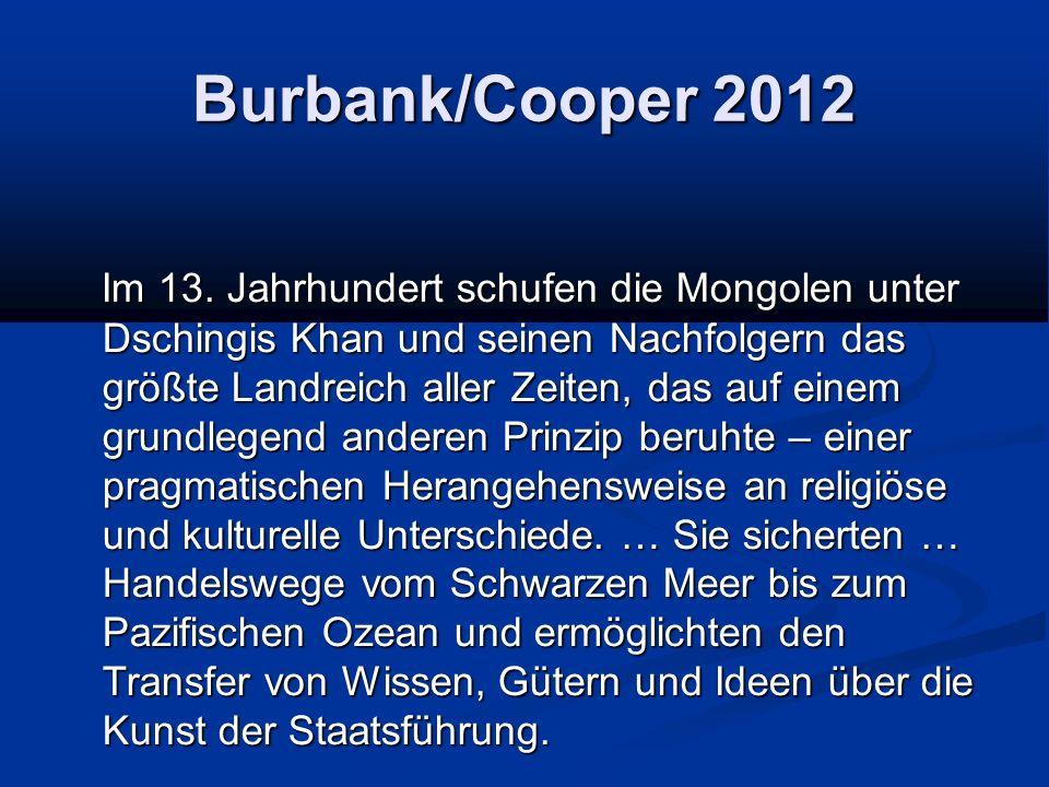Burbank/Cooper 2012