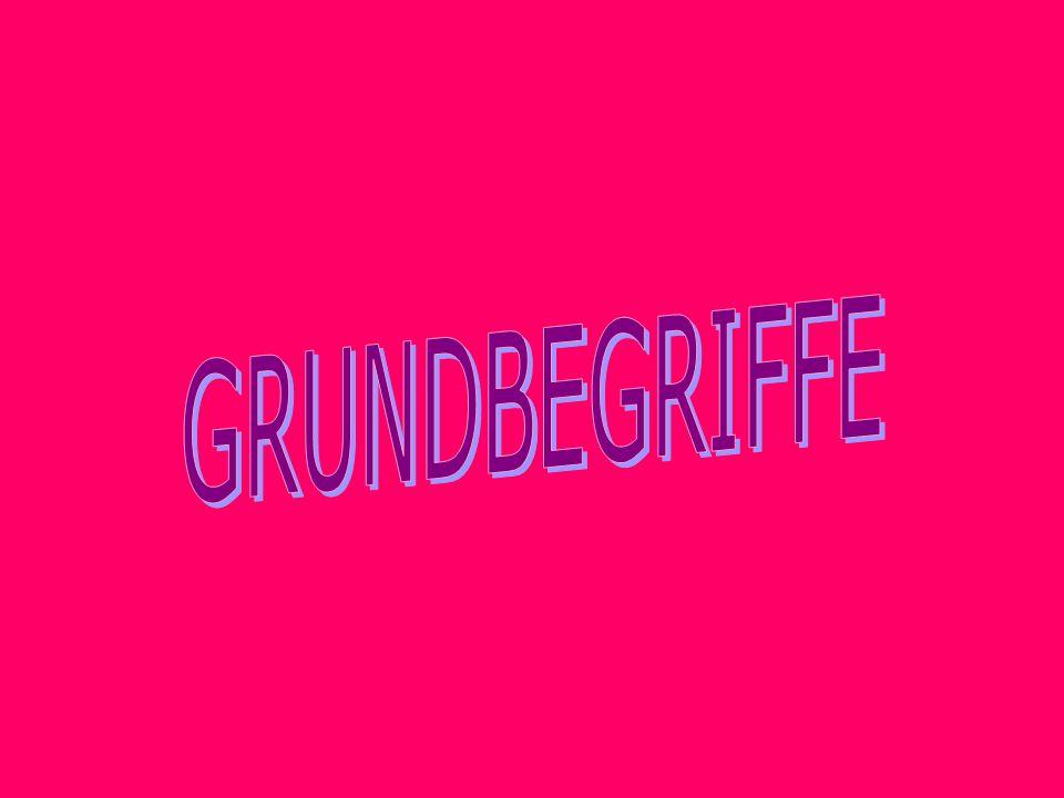 GRUNDBEGRIFFE