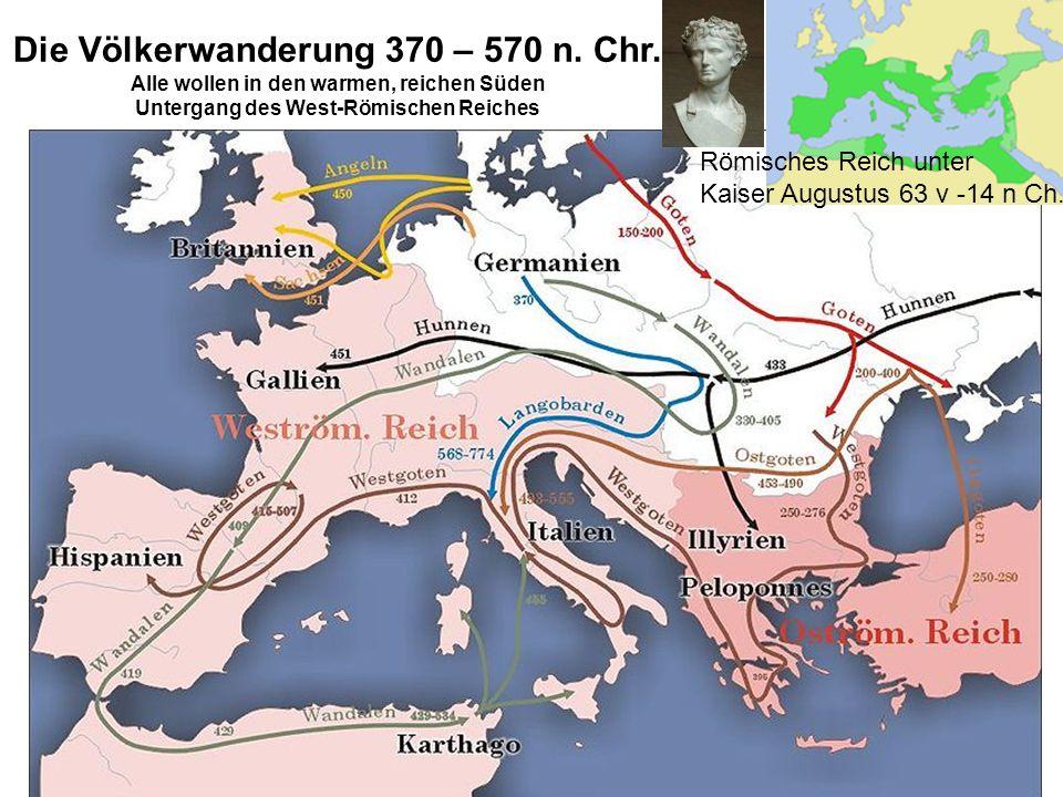 Die Völkerwanderung 370 – 570 n. Chr.