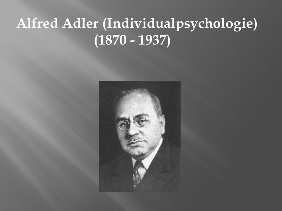 Alfred Adler (Individualpsychologie)