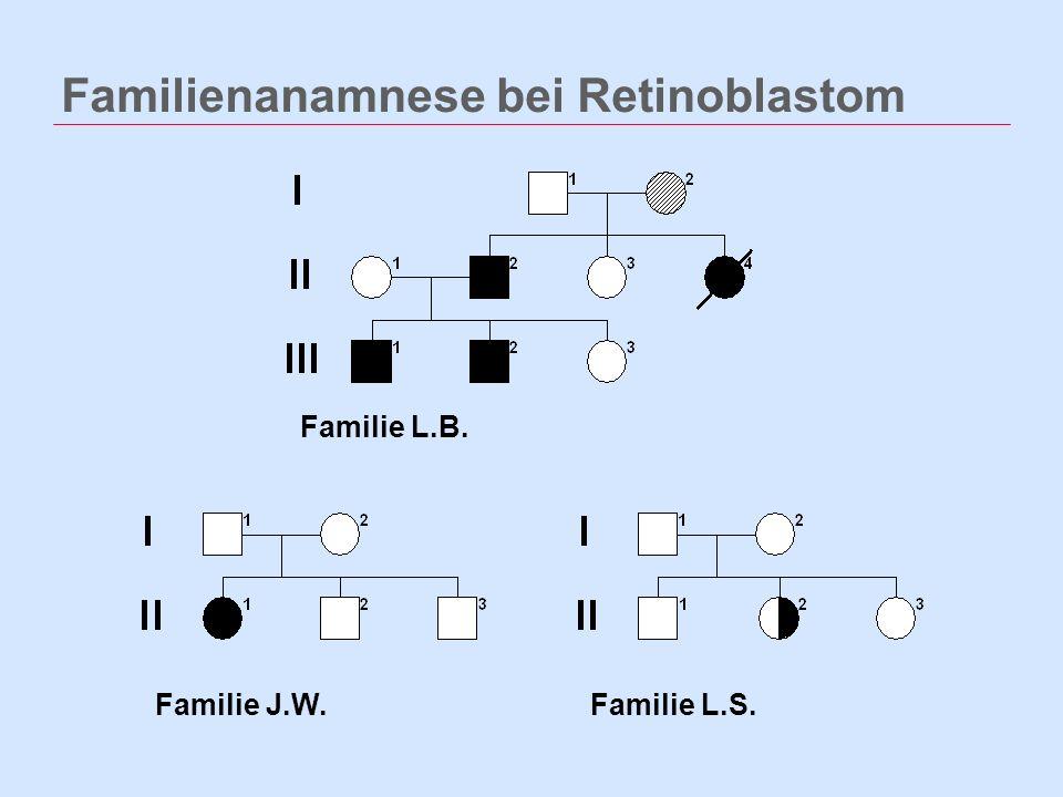Familienanamnese bei Retinoblastom