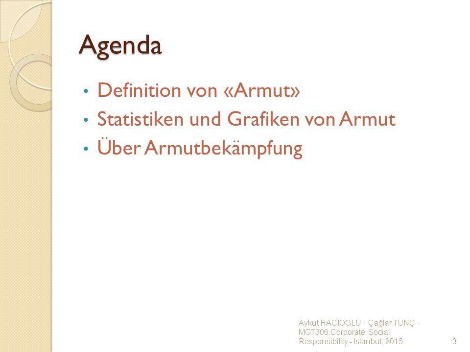 Agenda Definition von «Armut» Statistiken und Grafiken von Armut