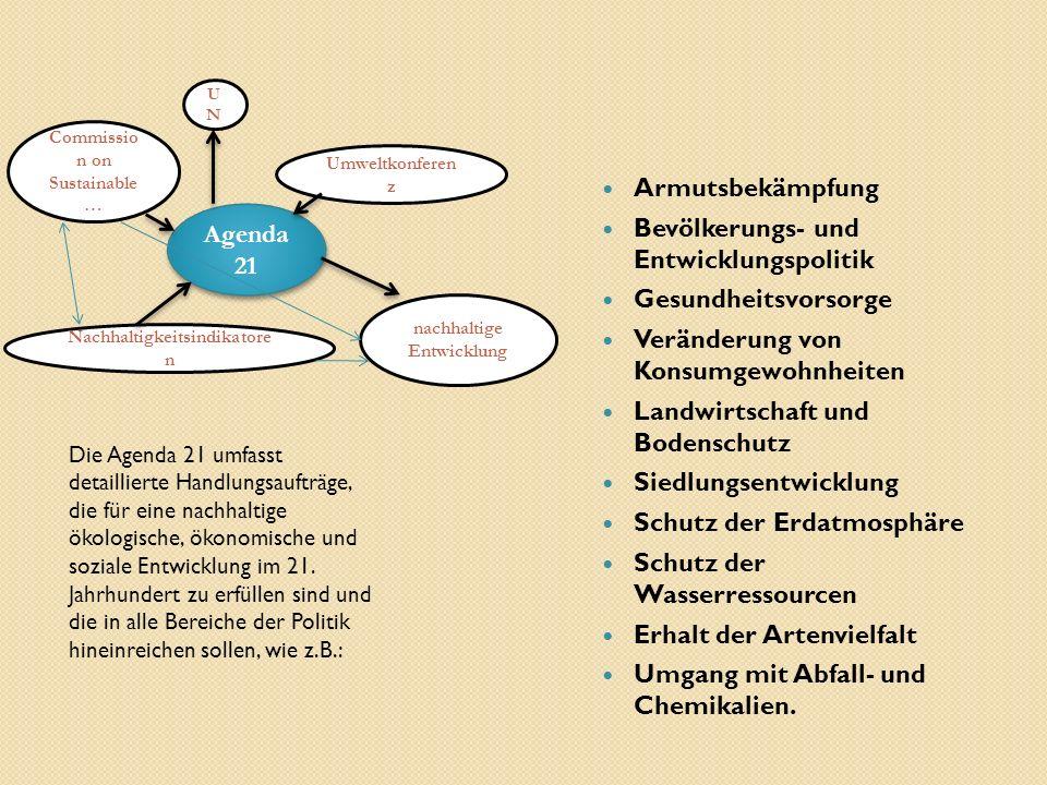Bevölkerungs- und Entwicklungspolitik Gesundheitsvorsorge