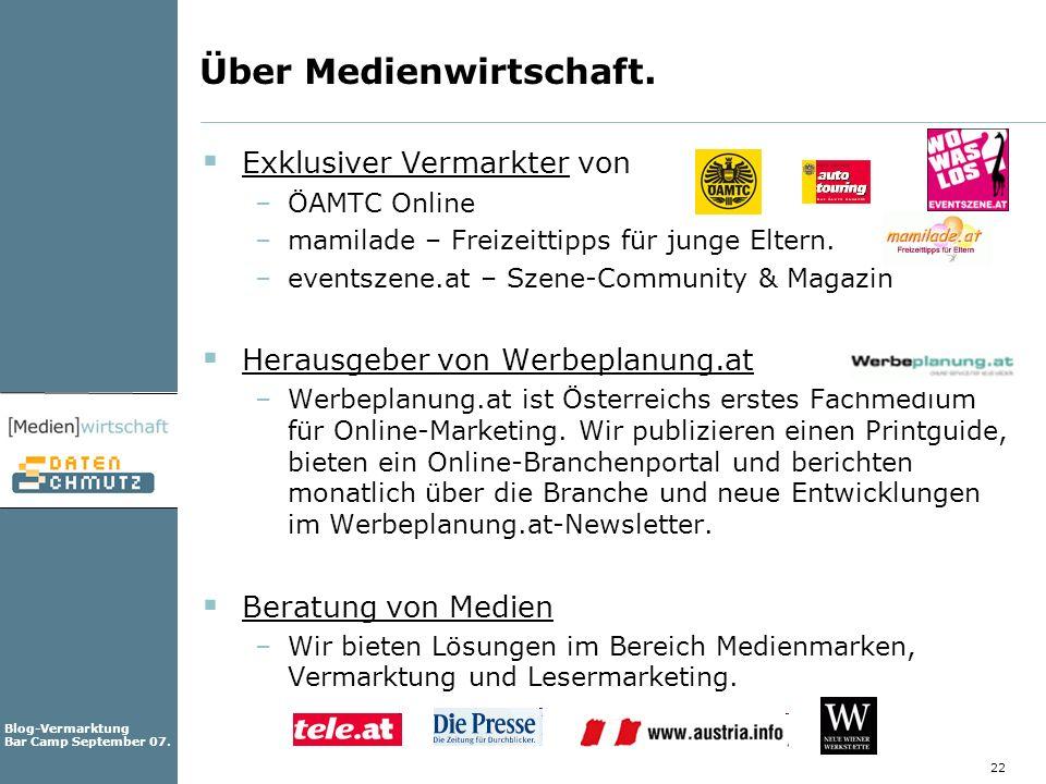 Über Medienwirtschaft.