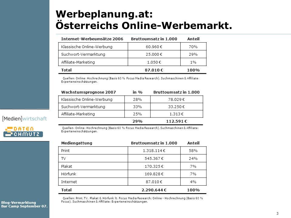 Werbeplanung.at: Österreichs Online-Werbemarkt.