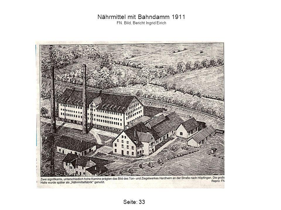 Nährmittel mit Bahndamm 1911 FN. Bild, Bericht Ingrid Eirich