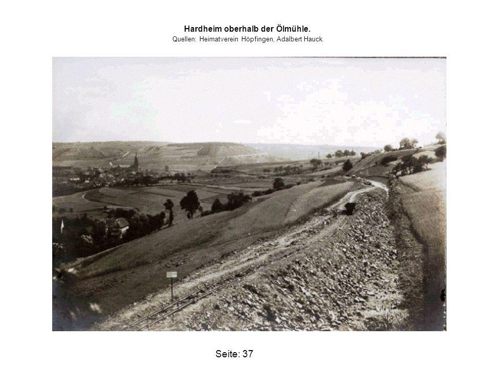 Hardheim oberhalb der Ölmühle