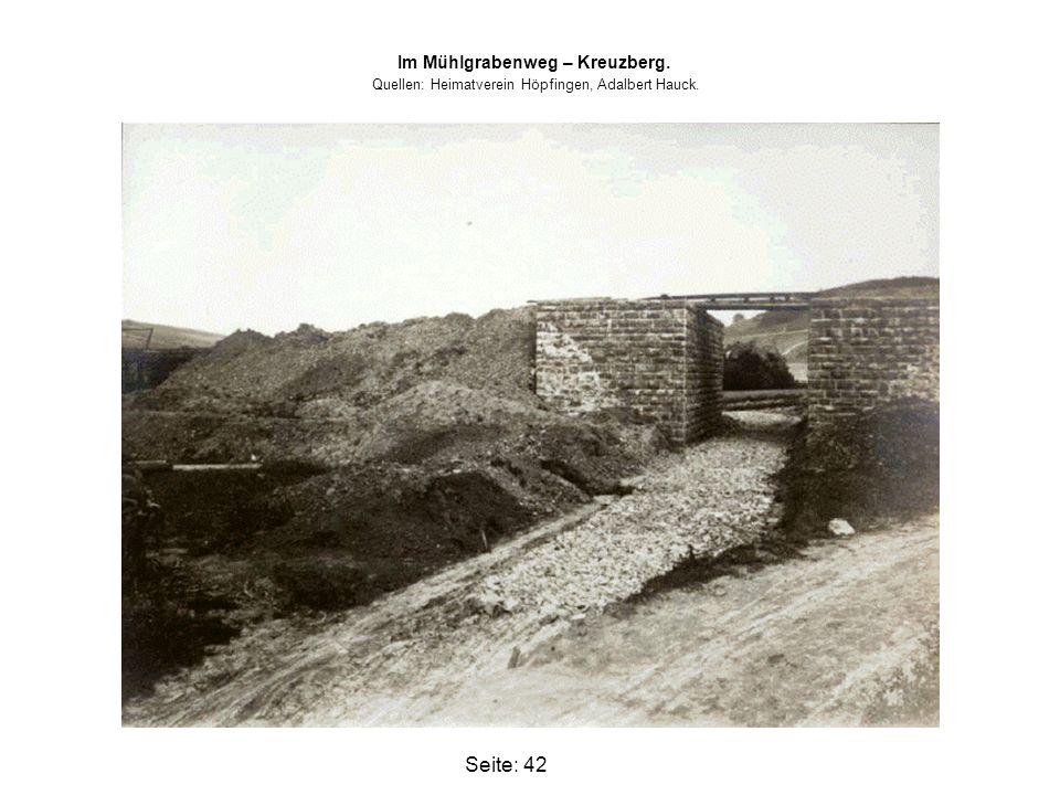 Im Mühlgrabenweg – Kreuzberg