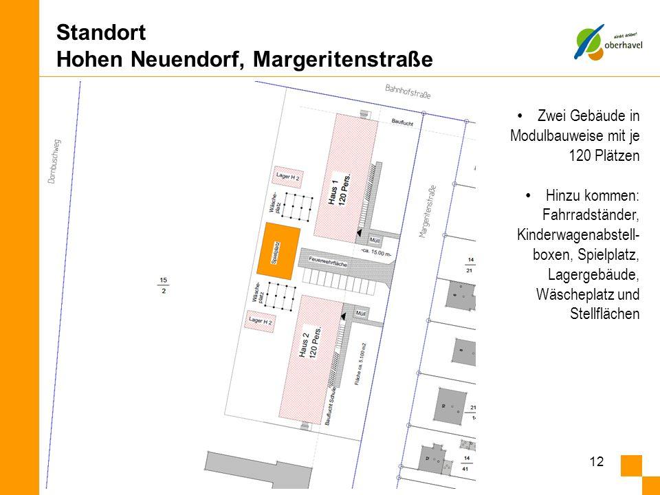 Standort Hohen Neuendorf, Margeritenstraße