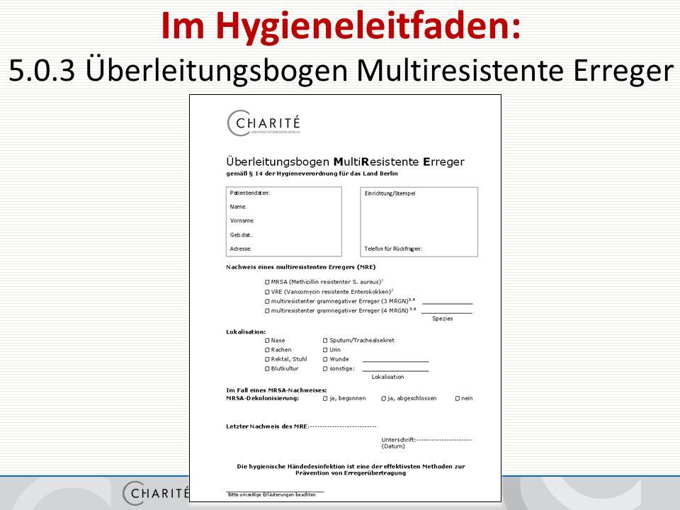 Ansprechpartner Krankenhaushygiene/Infektionsprävention