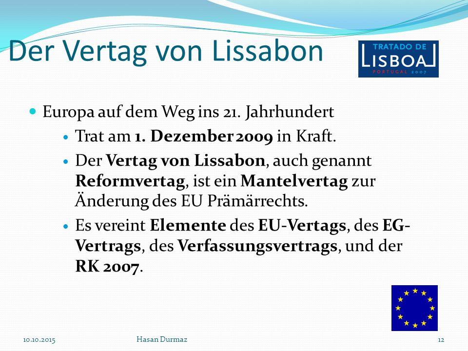 Der Vertag von Lissabon