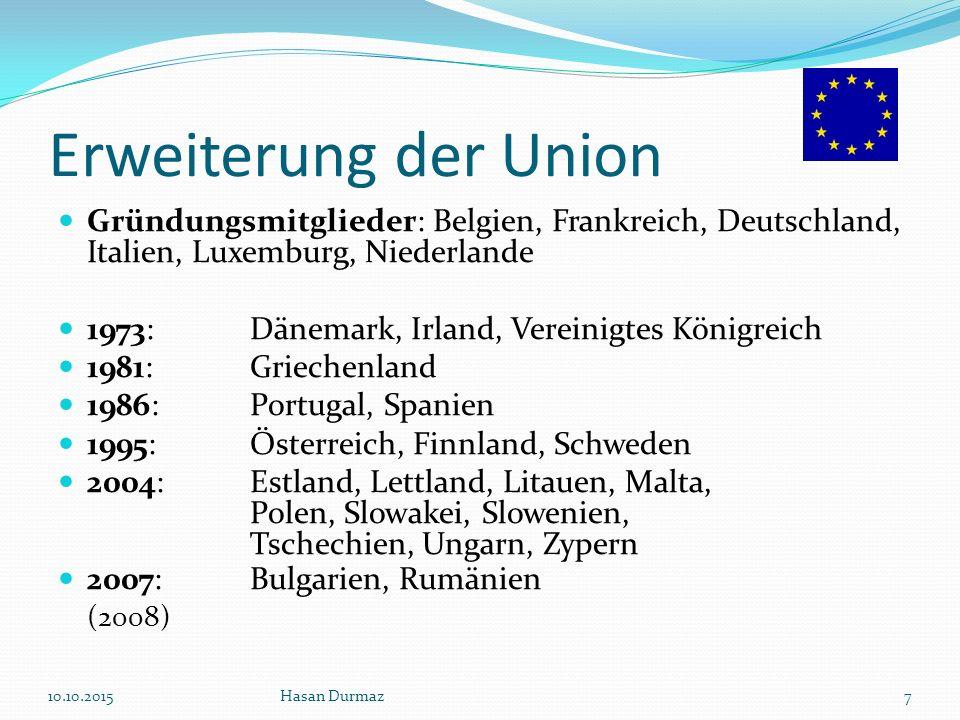 Erweiterung der Union (2008)