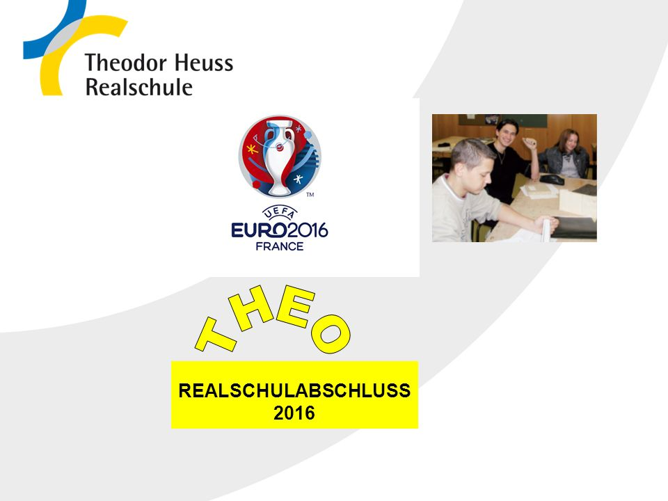 THEO REALSCHULABSCHLUSS 2016 23.04.2017 2