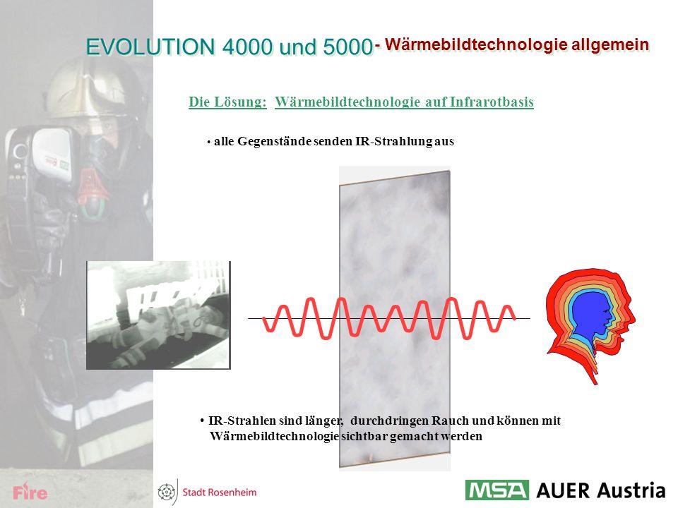 EVOLUTION 4000 und 5000 - Wärmebildtechnologie allgemein Die Lösung:
