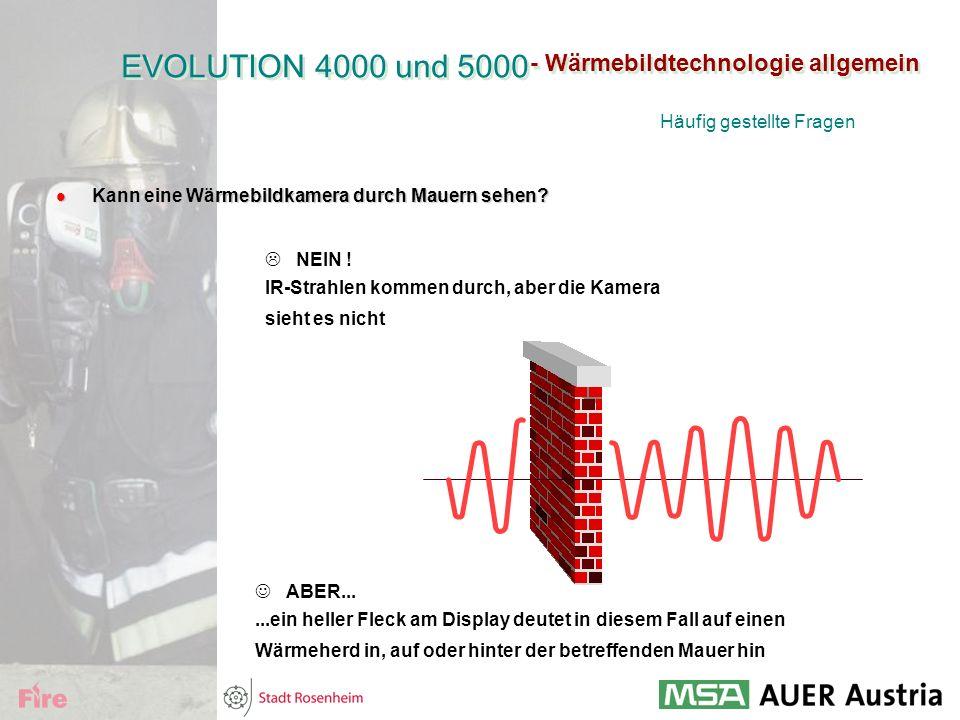 EVOLUTION 4000 und 5000 - Wärmebildtechnologie allgemein