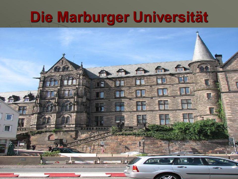 Die Marburger Universität