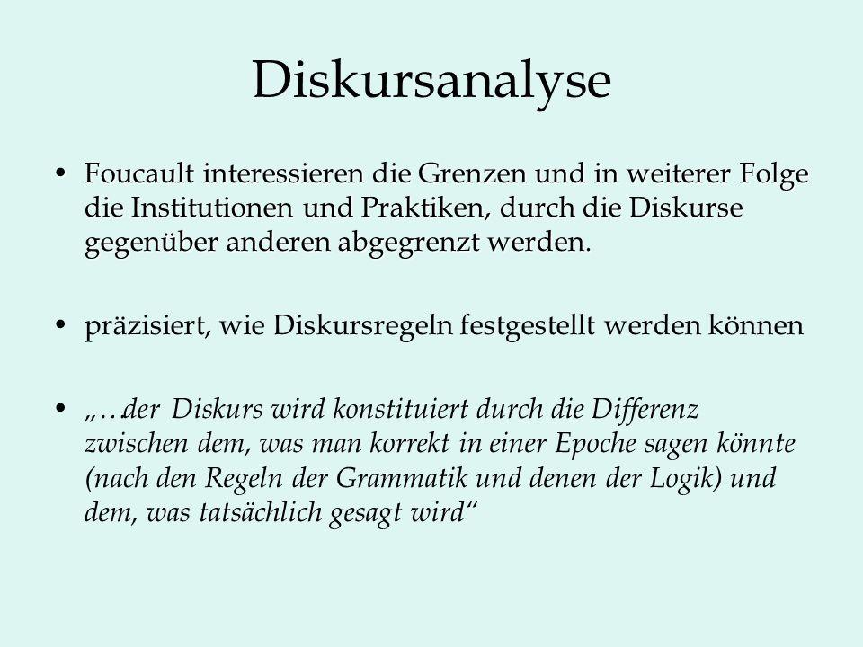 Diskursanalyse