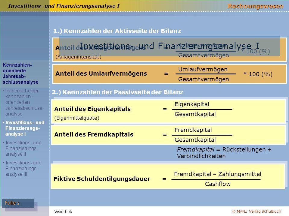 Investitions- und Finanzierungsanalyse I