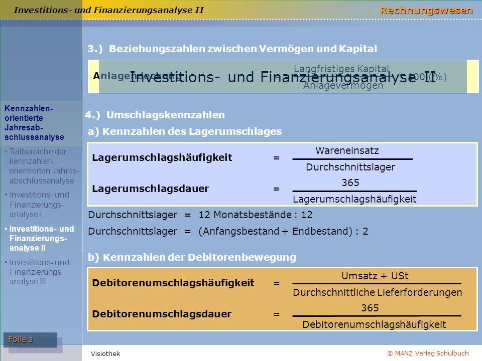 Investitions- und Finanzierungsanalyse II