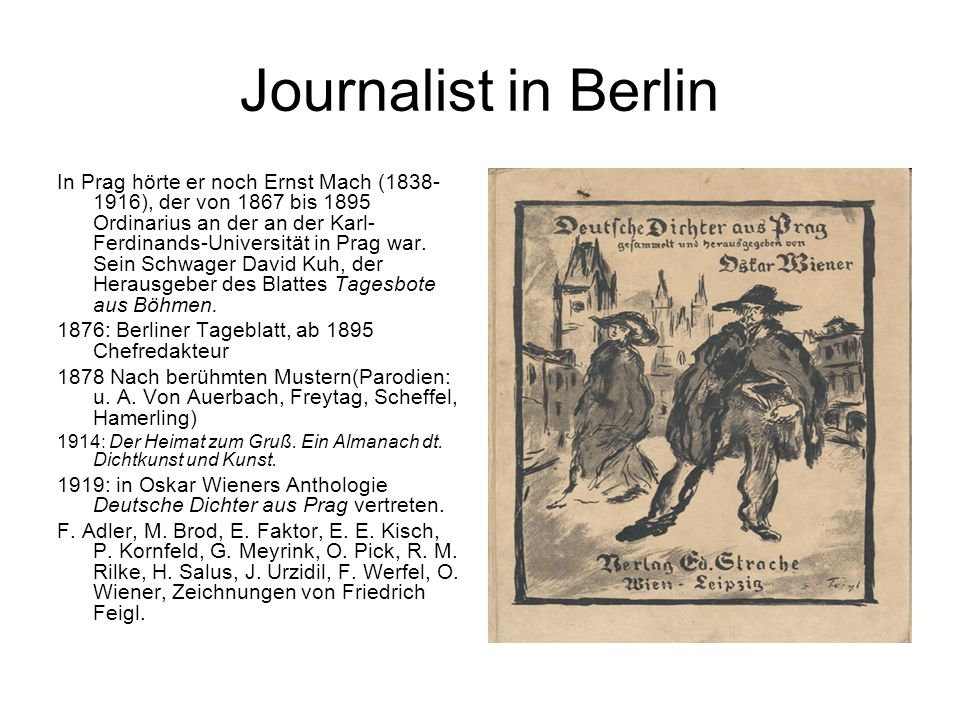 Journalist in Berlin
