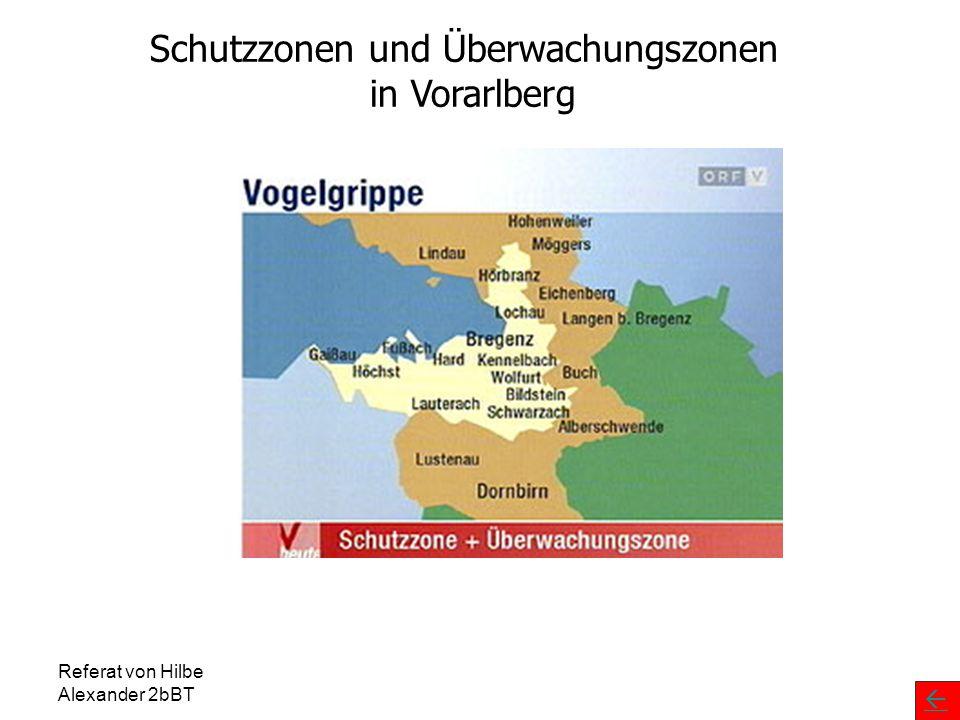 Schutzzonen und Überwachungszonen