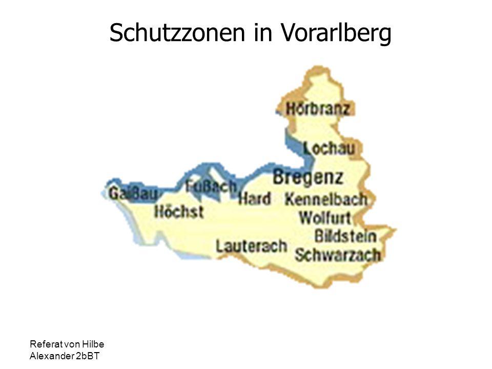 Schutzzonen in Vorarlberg