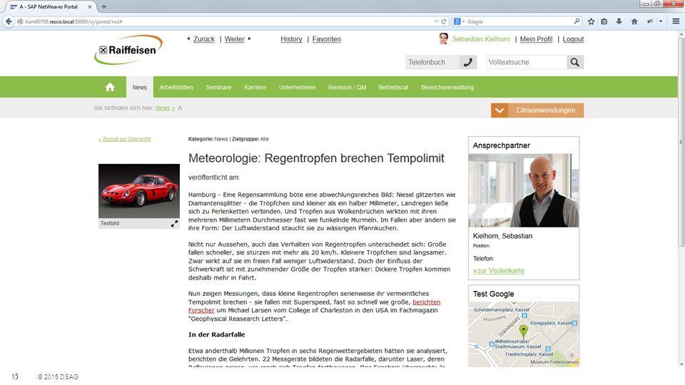 Portal-Theme mit HTML5 und SAPUI5