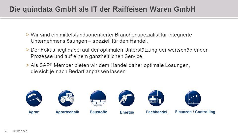 Die quindata GmbH als IT der Raiffeisen Waren GmbH