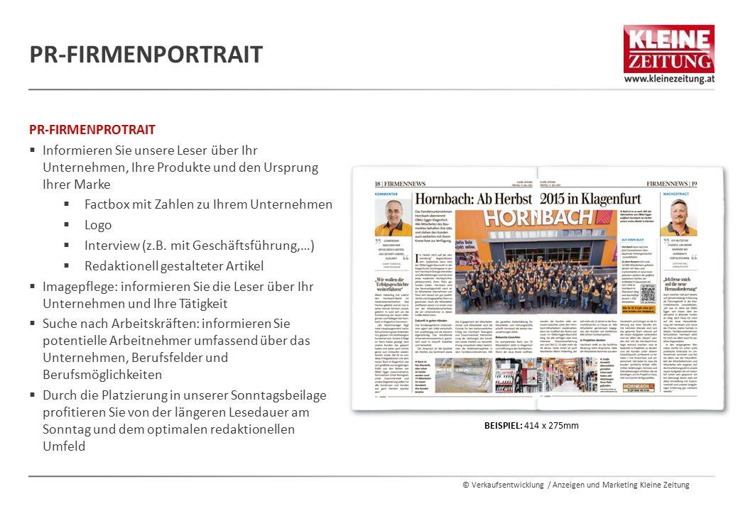 PR-Firmenportrait PR-FIRMENPROTRAIT