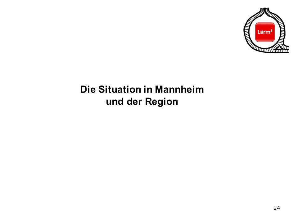Die Situation in Mannheim und der Region