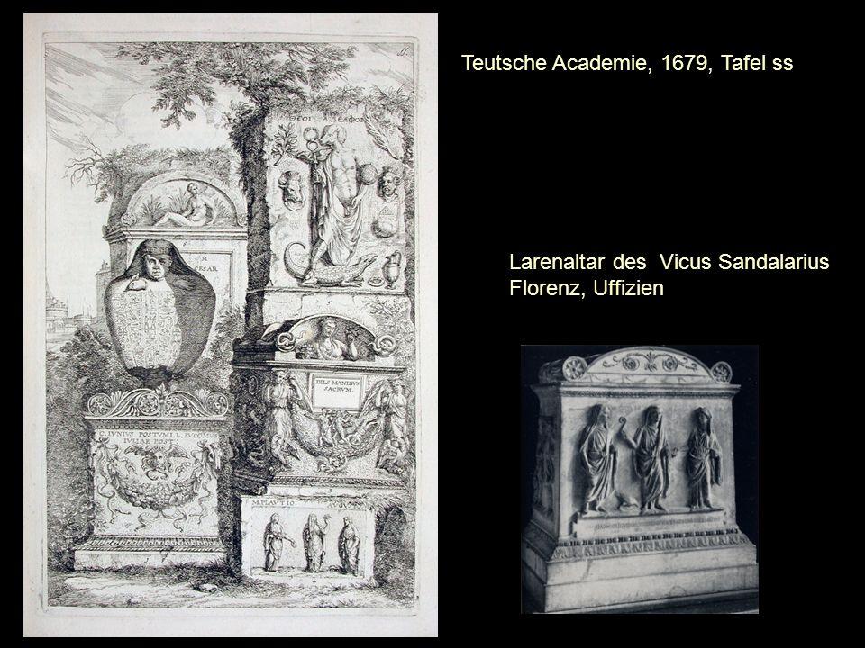 Larenaltar des Vicus Sandalarius Florenz, Uffizien