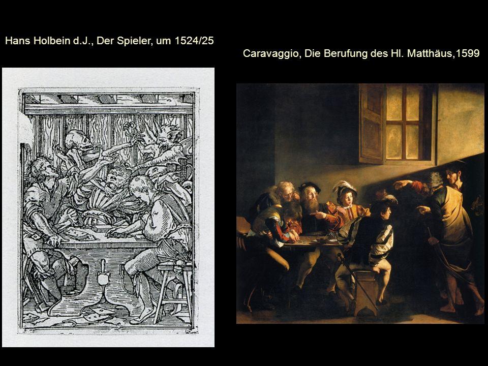 Hans Holbein d. J. , Der Spieler, um 1524/25