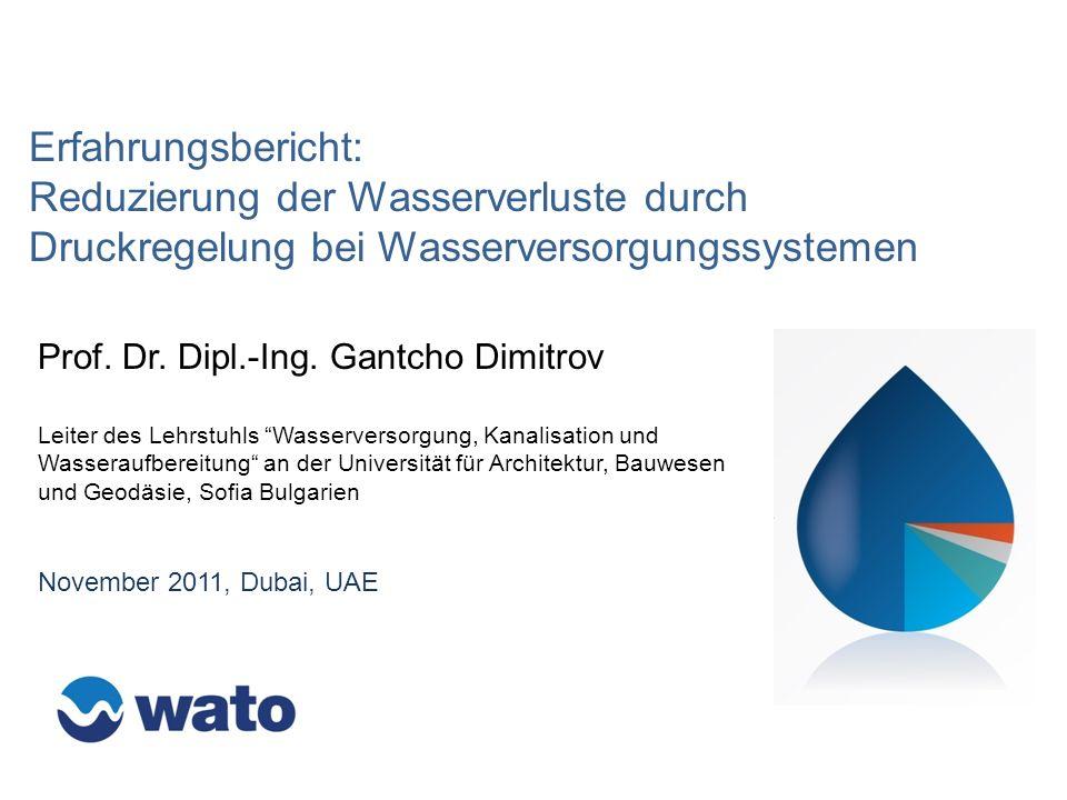 Erfahrungsbericht: Reduzierung der Wasserverluste durch Druckregelung bei Wasserversorgungssystemen