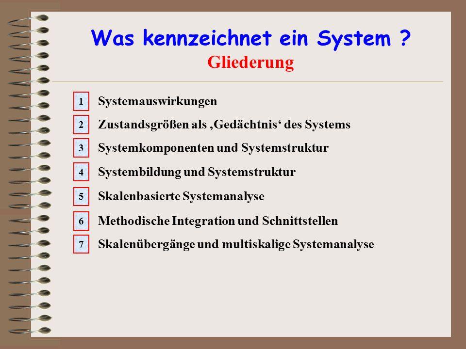 Was kennzeichnet ein System