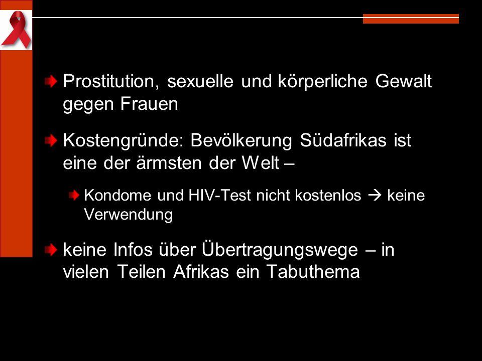 Prostitution, sexuelle und körperliche Gewalt gegen Frauen